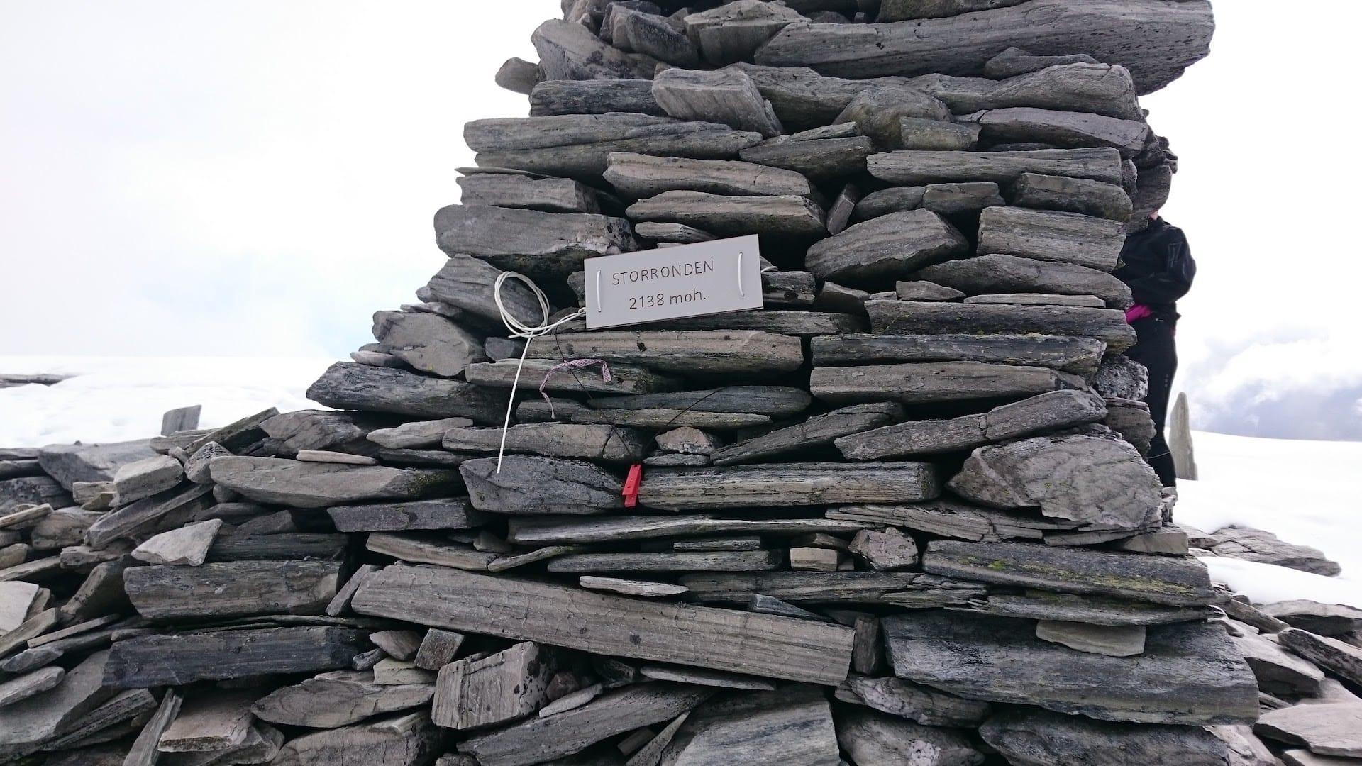 Toppvarden på Storronden