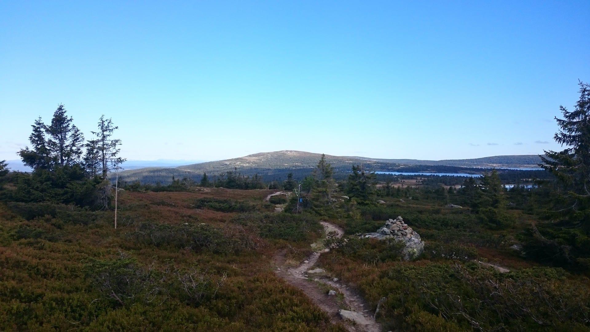 Utsikt mot Nevelfjell